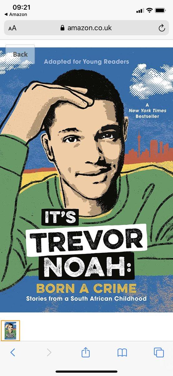 Trevor Noah Born A Crime pic.twitter.com/bT9BEvkMuF