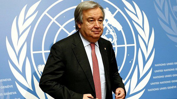 We call on #Kiev to follow the appeal of UN SG A.Guterres and stop violence in #Donbass. For the sake of achieving peace in the country, swift implementation of the Minsk agreements and of the N4 instructions is more than ever in demandpic.twitter.com/5GhzbNbrAp