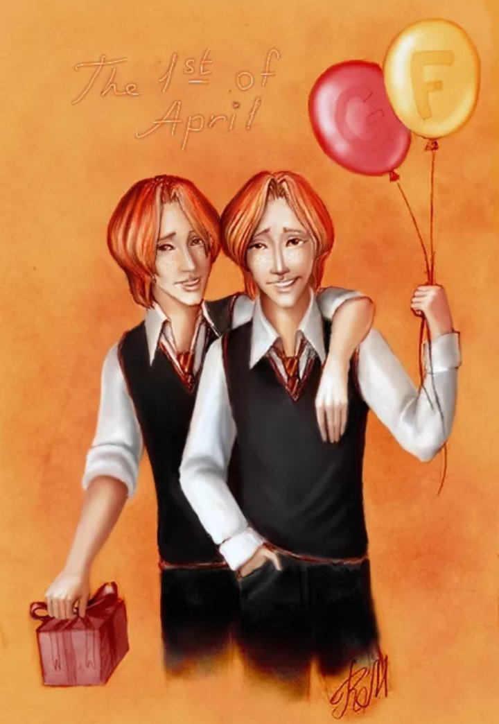 День рождения близнецов уизли гарри поттер