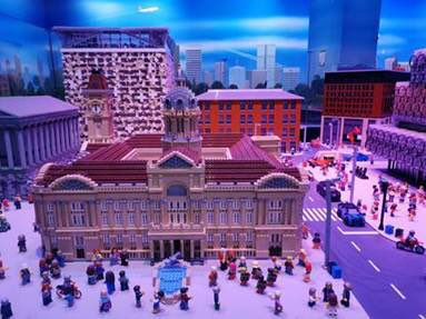 Legoland claims to have removed figures to show social isolation - looks like an April Fool to me