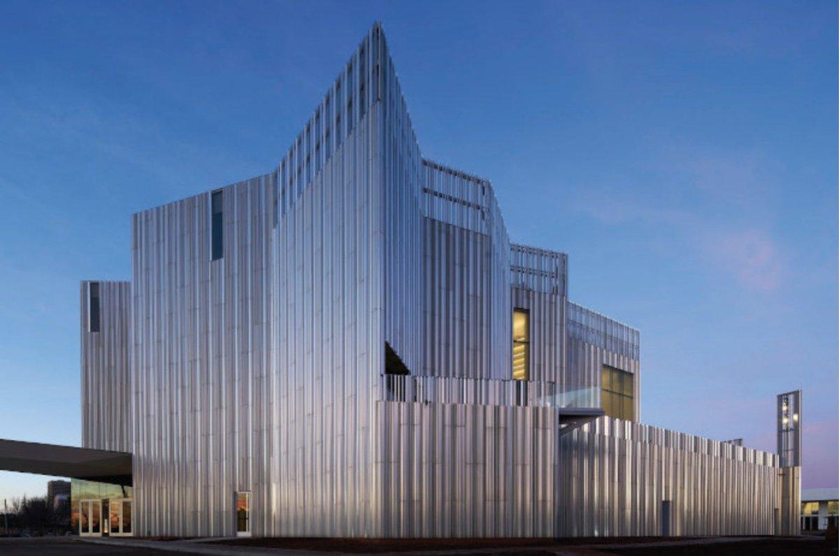 Metal heart: Oklahoma Contemporary by Rand Elliott Architects designcurial.com/news/oklahoma-…
