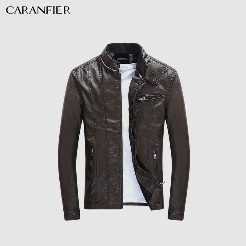 Mens PU Jackets Coats Motorcycle Biker Faux Leather Jacket Men Autumn Clothes Male Classic Thick Velvet Coat  $  70.99.   https://pooo.st/X6WNd  #jacket #coat pic.twitter.com/78JmPQ9YpH