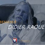 Image for the Tweet beginning: 🔴🔵 Le professeur Didier Raoult