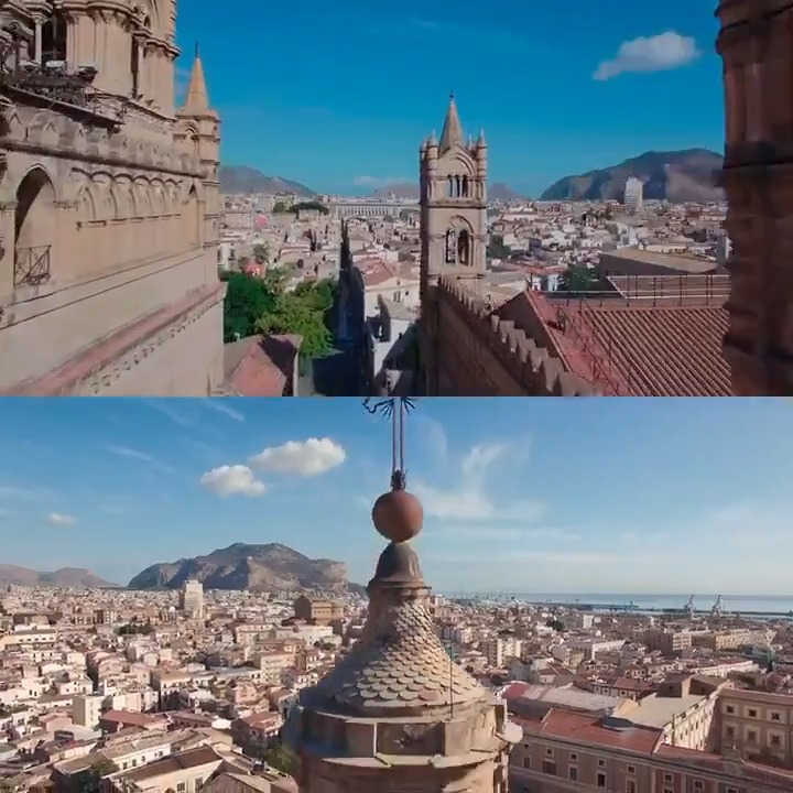 Image for the Tweet beginning: Palermo rappresenta da secoli l'incontro