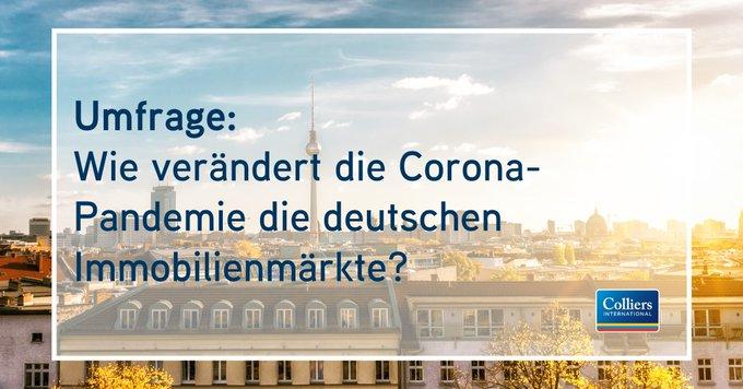 Wie verändert die Corona-Pandemie die deutschen Immobilienmärkte?<br></noscript><br>Dazu haben wir Top-Entscheider der Immobilienwirtschaft befragt. Die Ergebnisse der Umfrage gibt's in der Infografik:  t.co/NoZVZTDYCq