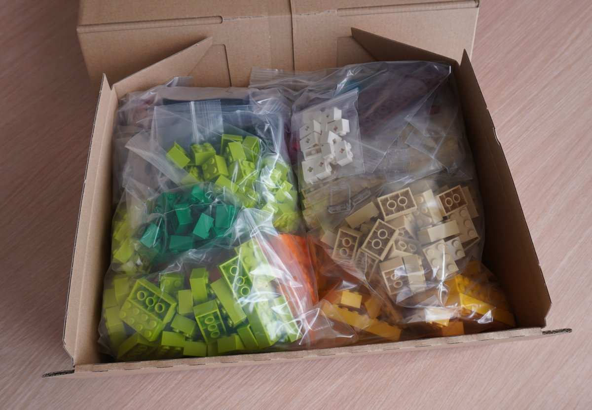 Ready to ship to France, Thanks for your order! #bricklink #lego #order pic.twitter.com/vR3XqDYPCN