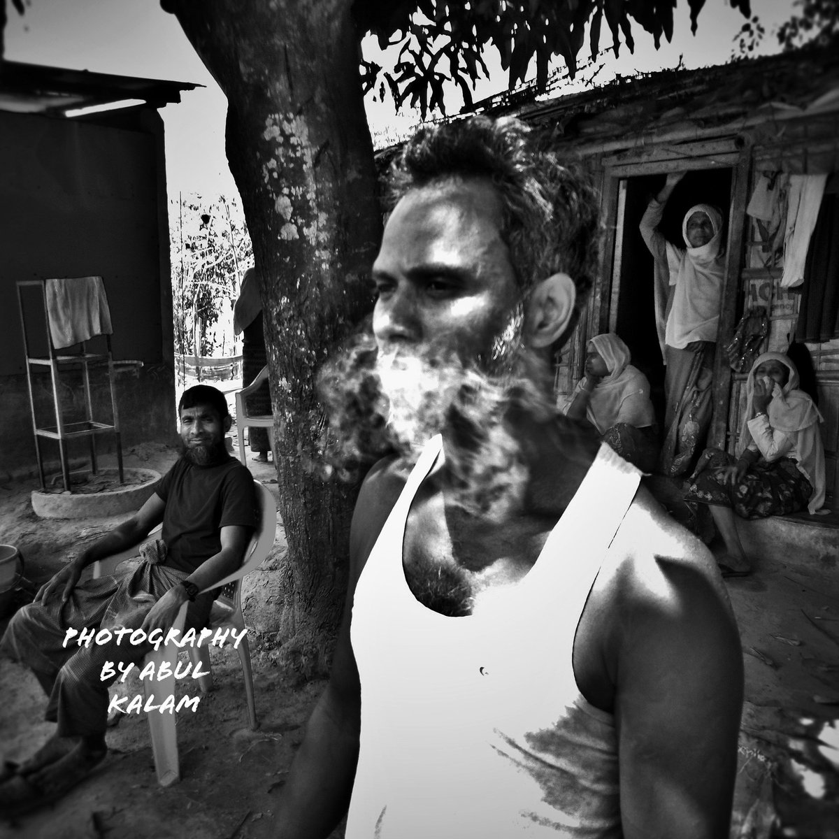 #My photography in the world .  #Refugee Camp Cox's Bazar in Bangladesh.  Date 01/04/2020/.