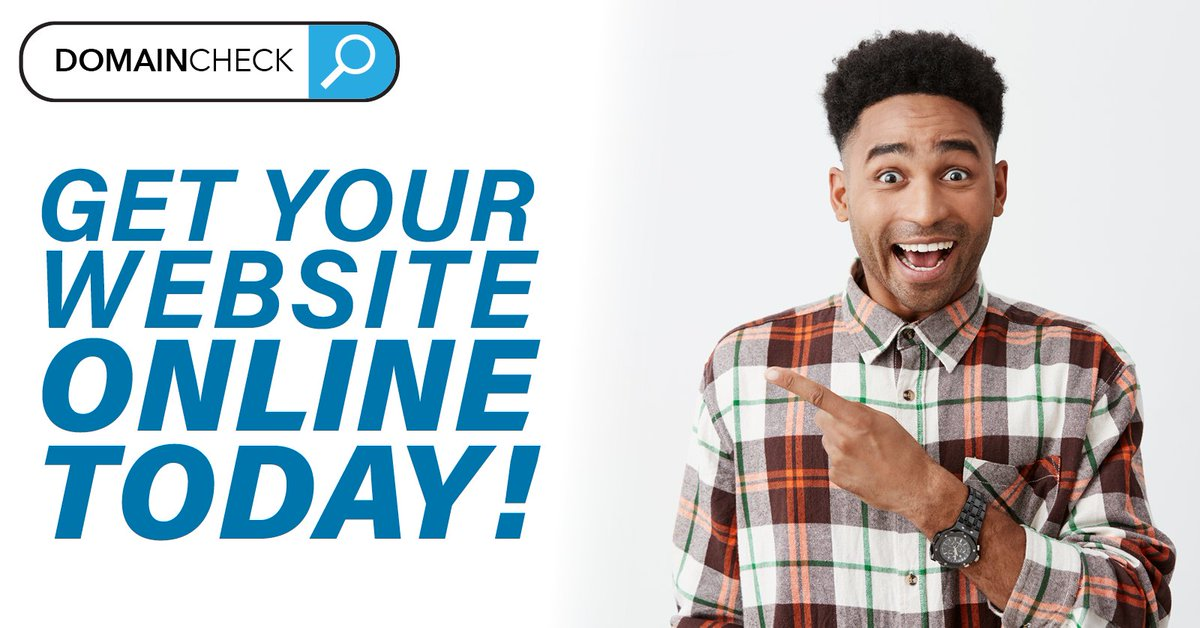 Don't yet have a website? Get everything you need to create one today from only £77+vat!  Or how about having one fully built for you and ready to go within a day from only £350+vat!!  Check out our full set of web bundles: https://www.domaincheck.co.uk/bundles/pic.twitter.com/vPTJ6aWmH9
