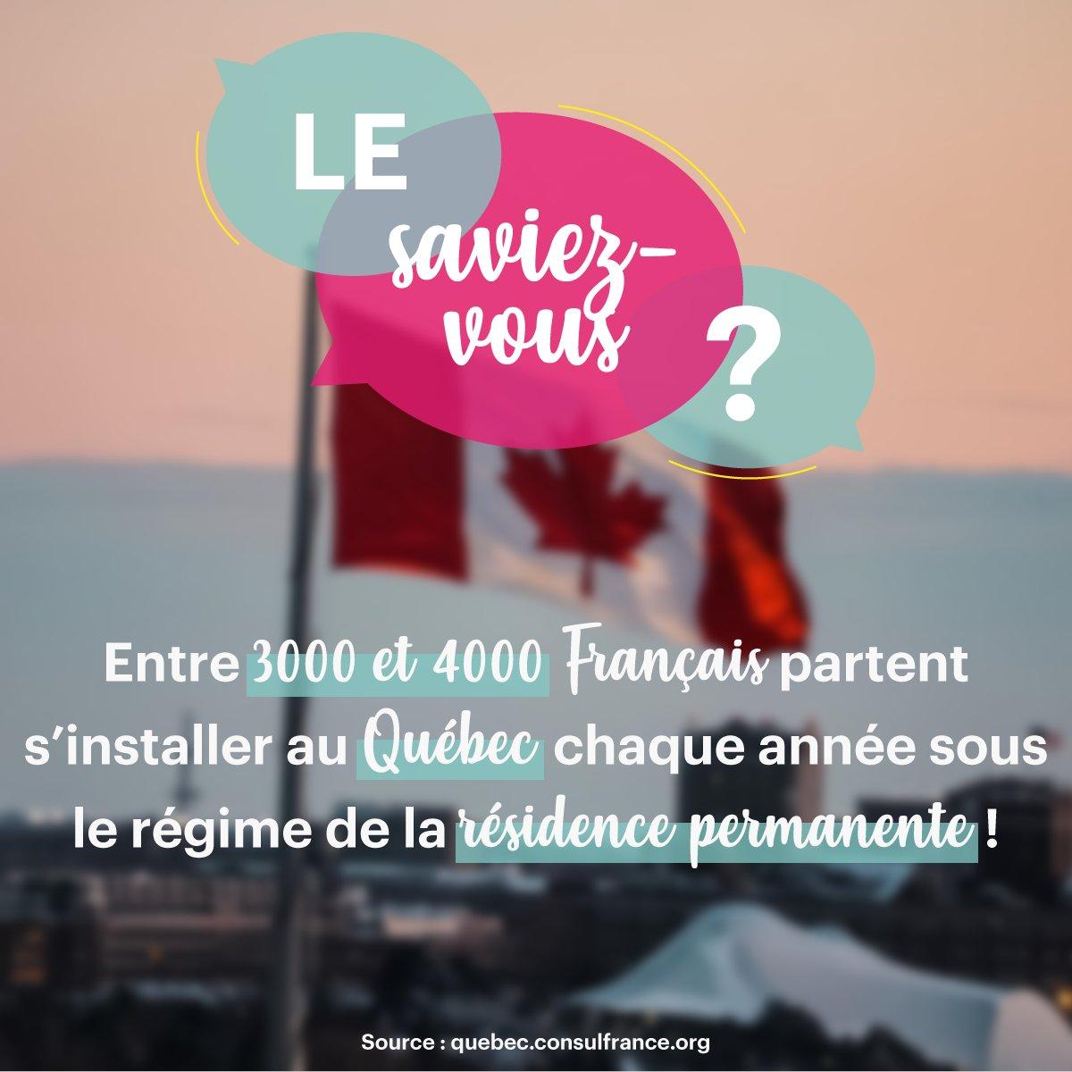 Le #Québec est une province du Canada qui accueille un grand nombre de Français chaque année. C'est une région dynamique où de nombreux secteurs recrutent : santé, informatique, administratif... 🇨🇦  🎥 + d'infos 👉 https://t.co/MhoeimvSZV  #MDM2020 #métiers #formations https://t.co/S7z17bm6VT