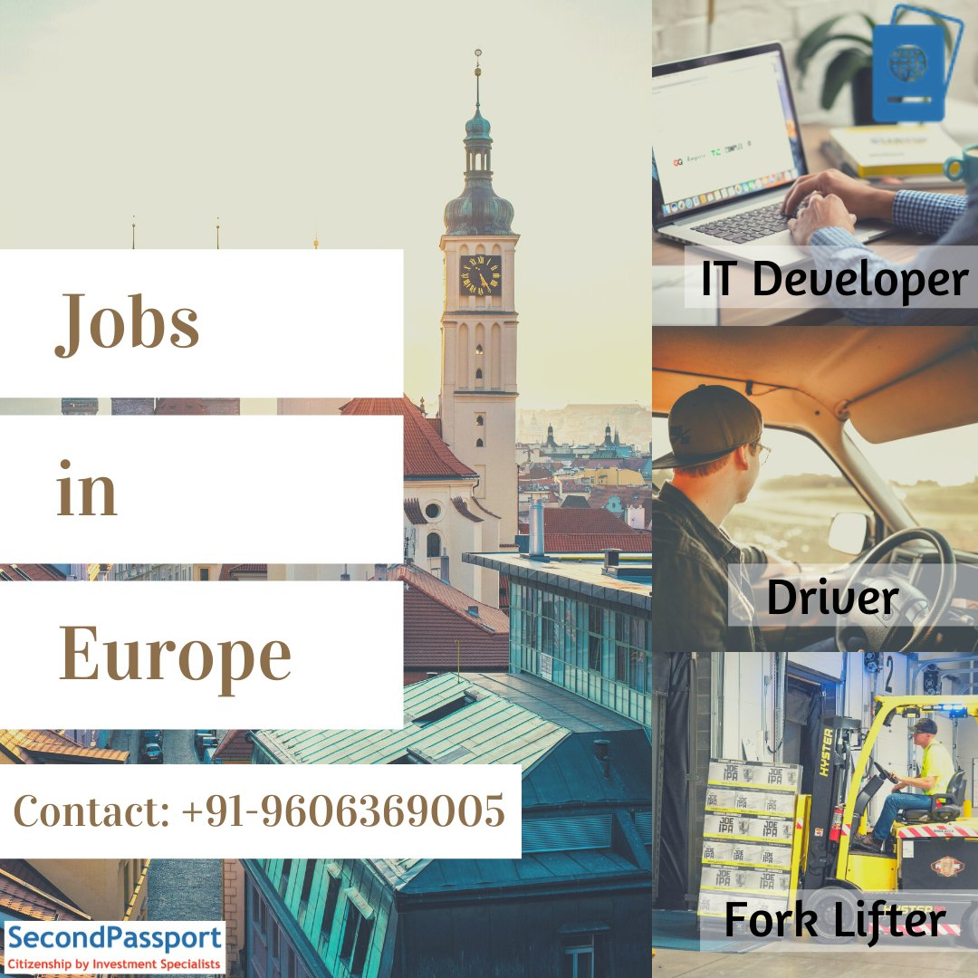 #Jobs in Airplane #Europe!  Hurry, Limited vacancies! Contact immediately +91-9606369005  #immigration #visa #immigrants #travel #ITdeveloper #microsoftsql #dotnet #SQL #drivers #plumbers #electrician #labour #citizenship #foreignjobs  #workpermit #jobseekers #secondpassport