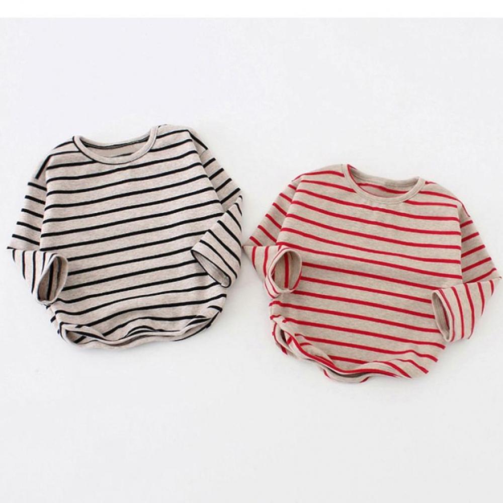 #pretty #adorable Striped Cotton Baby Boys T-Shirt