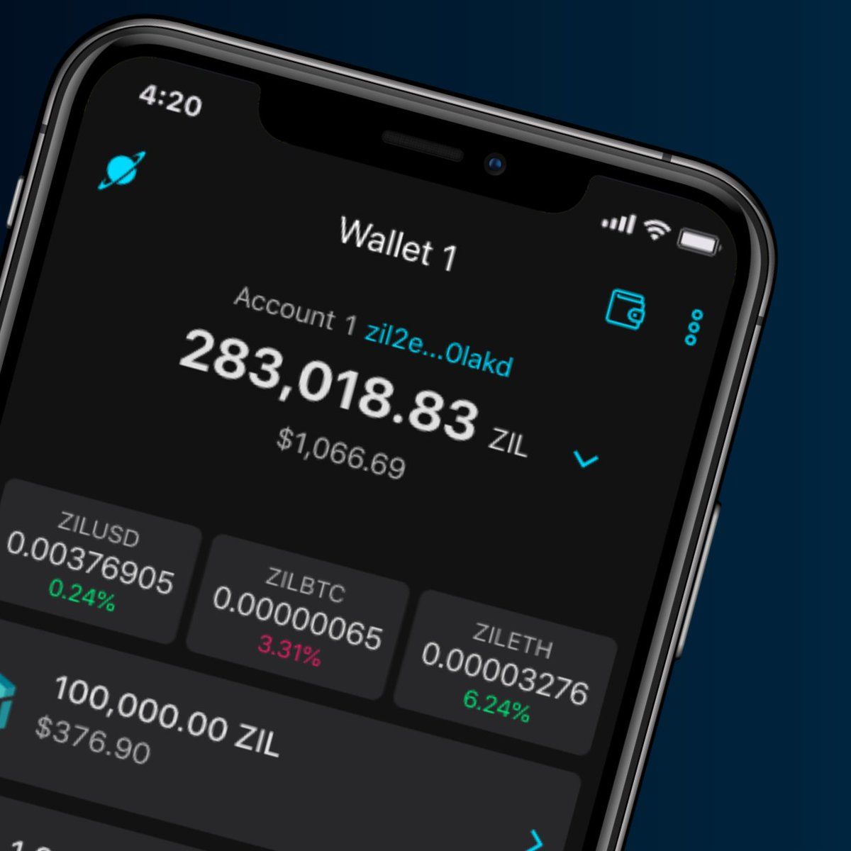 A new mobile friendly cryptocurrency wallet is coming soon… stay tuned!  #zilliqa #xsgd #zrc2 #eth #erc20pic.twitter.com/9bIv2SxQC7