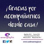 Image for the Tweet beginning: Gracias por acompañarnos desde casa!!! Ya
