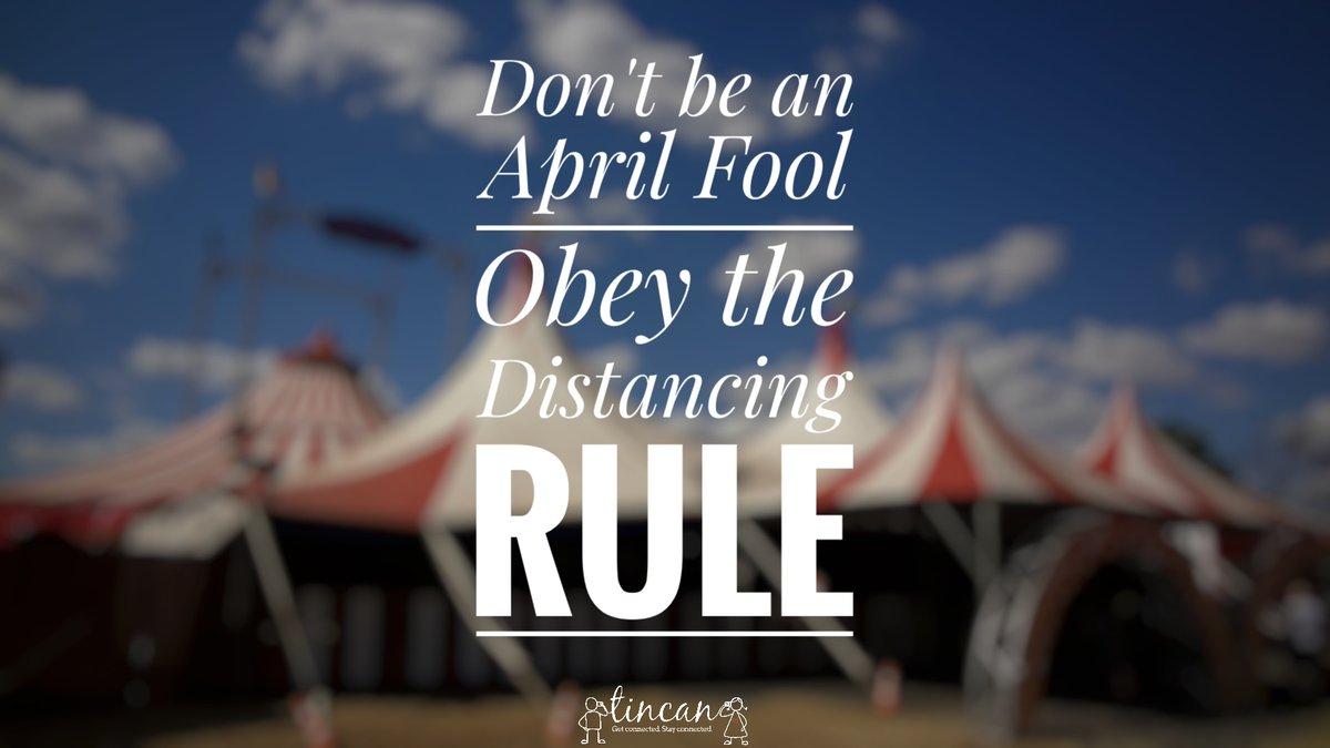 #AprilFoolsDay #StayAtHome