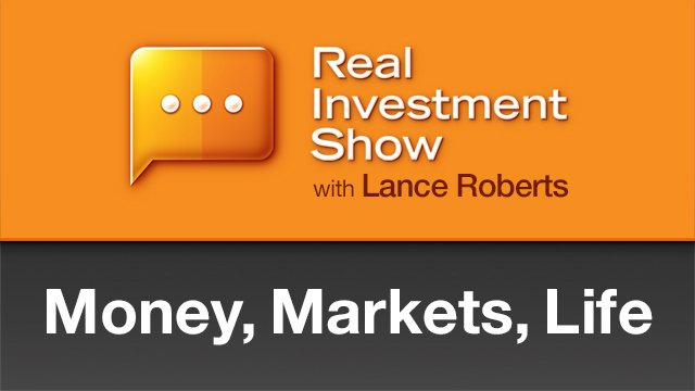 We're not fooling around on today's episode of #TheRealInvestmentShow w @LanceRoberts ​ and @ratliff_danny , starting at 6am CDT on #KSEV AM 700 - The Voice of Texas​, streaming live on #Vimeo​! https://livestream.com/accounts/11983739/events/9067170 …pic.twitter.com/UXYp7mkQSC