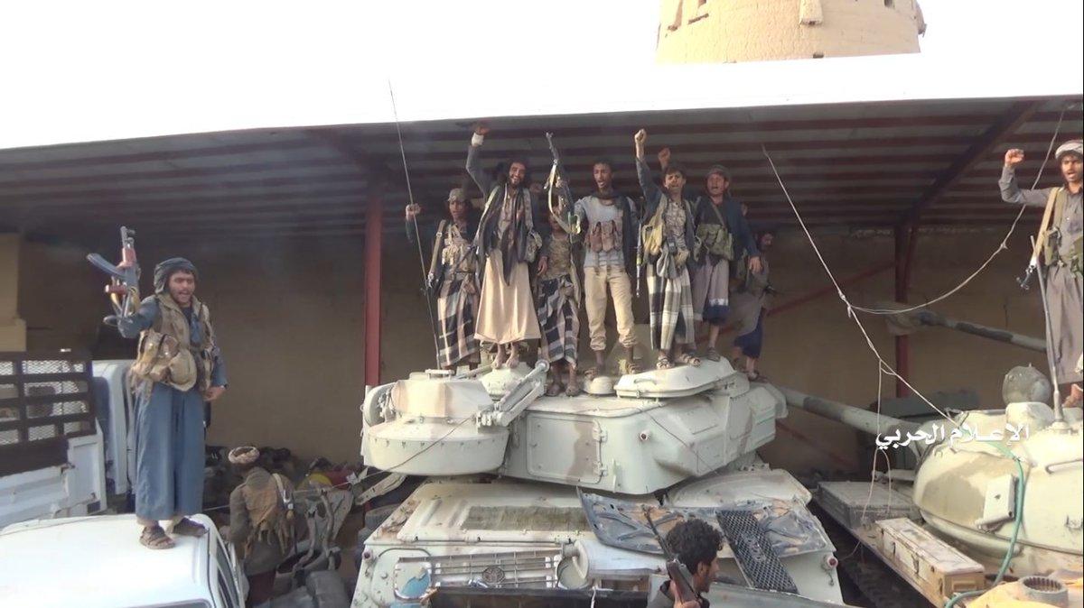 Наступление в провинции Аль-Джавф