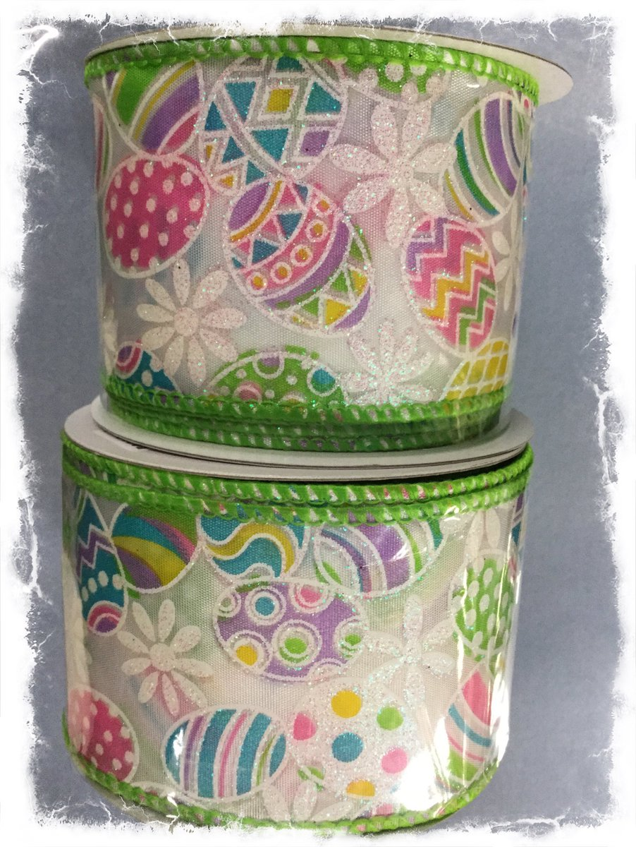 Add a touch of Spring Whimsy to your floral creations with this wired ribbon at Amazing Floral Wholesale. pic.twitter.com/IzT3AkC52a