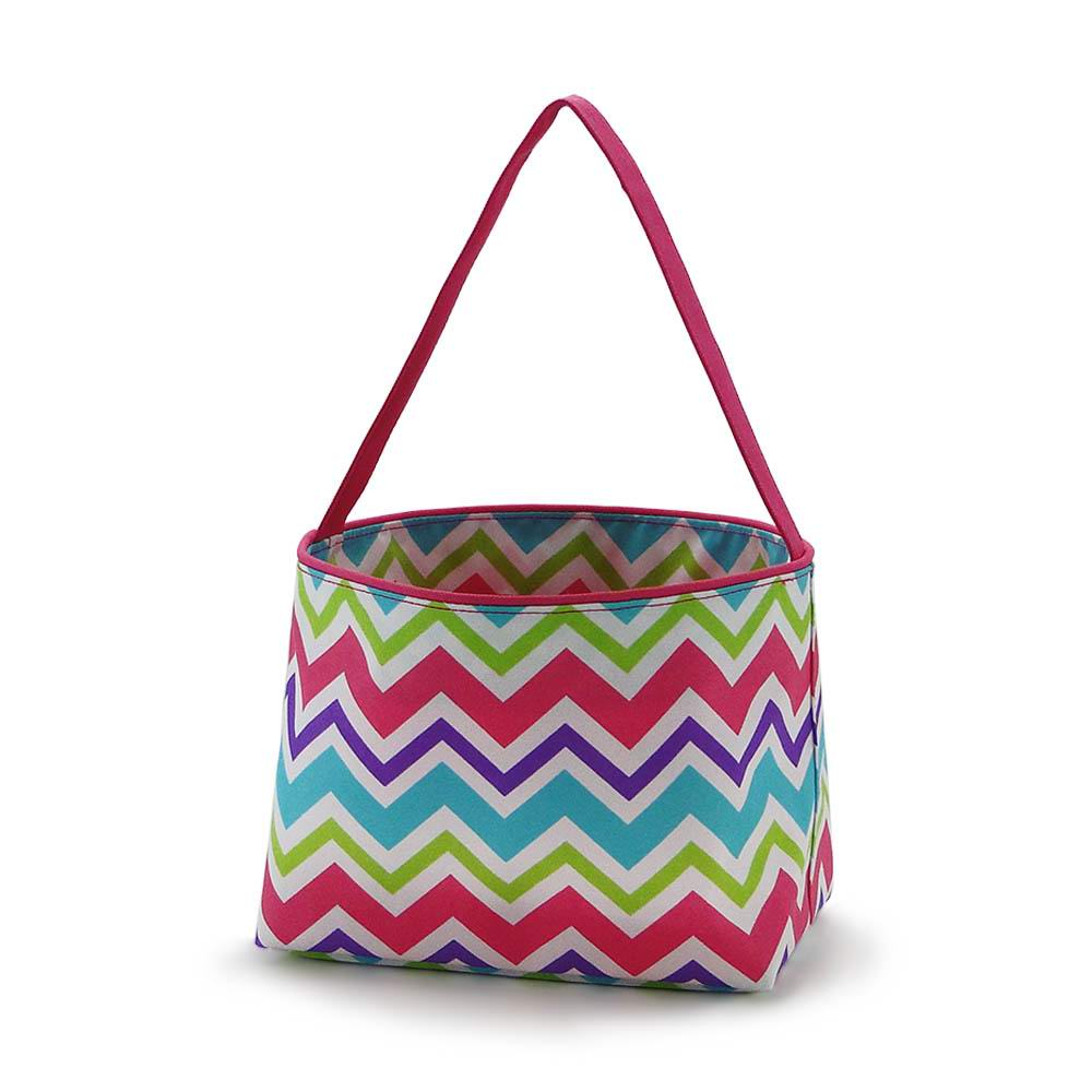Recommend this Girl's Chevron Easter Bucket to you. #Rainbowgifts #wholesale #Easter #bucket #monogram #embroidery #custom https://www.rainbowgiftswholesale.com/pic.twitter.com/a7I7YQu4Vd