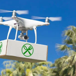 Image for the Tweet beginning: Delivery drones: Where are they