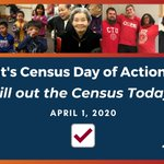 Image for the Tweet beginning: Happy Census Day of Action!