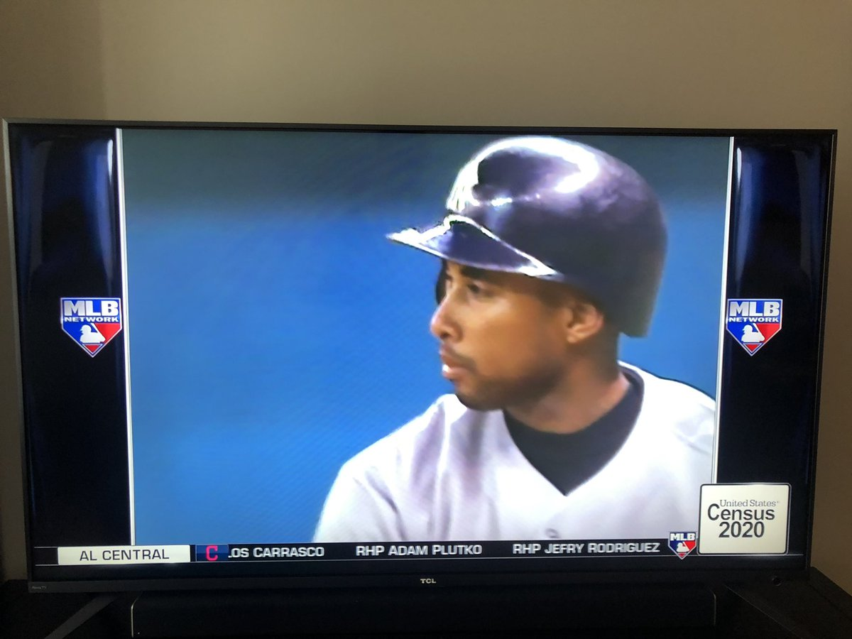 It's Census Day, as evidenced by the ad on this 25-year-old baseball game on @MLBNetwork this morning.