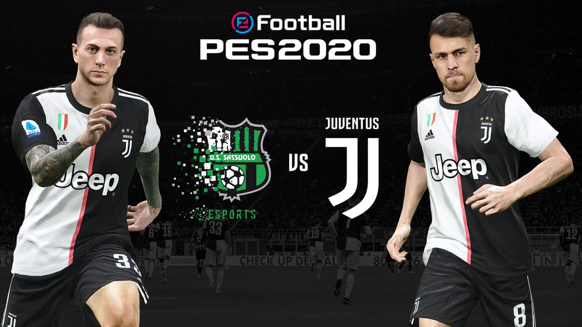The virtual Bianconeri are 🔙 in 2️⃣4️⃣ hours! 🕰️  🎮 We play @SassuoloUS LIVE on http://YouTube.com/Juventus  at 18:00 CET tomorrow.   @Konami @officialpes #eSerieATIM