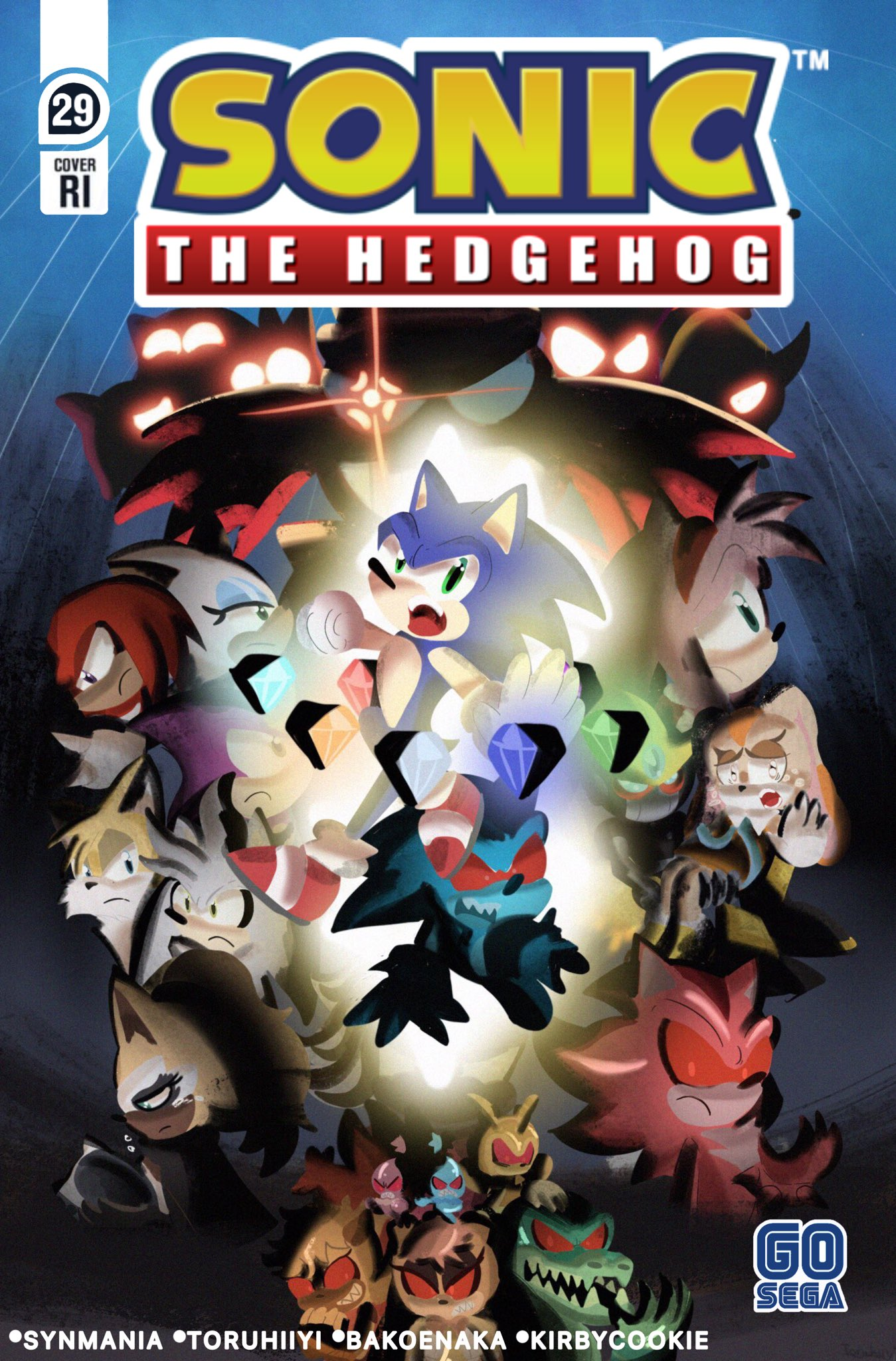 Idwsonicnews Idw Sonic Covers Previews On Twitter Sonic The Hedgehog 29 Cover Ri Done By Toruhiiyi Sonic Sonicthehedgehog Idwsonic