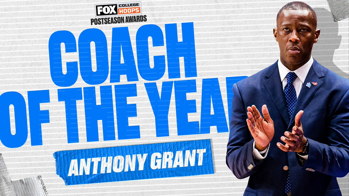 No surprise here! @DaytonMBB's Anthony Grant is your Coach of the Year, as voted on by CBB on FOX fans ✈️🔥