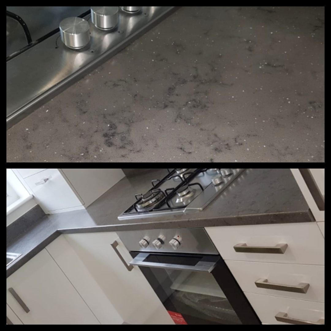 My camera couldn't quite pick up the glitter in the work top, but I tried  (pic taken 4th March) SPARKLY WORK TOPS #SharedOwnership #newbuild @OD_Properties #BBG3pic.twitter.com/Z9Iq0Y8Rtn