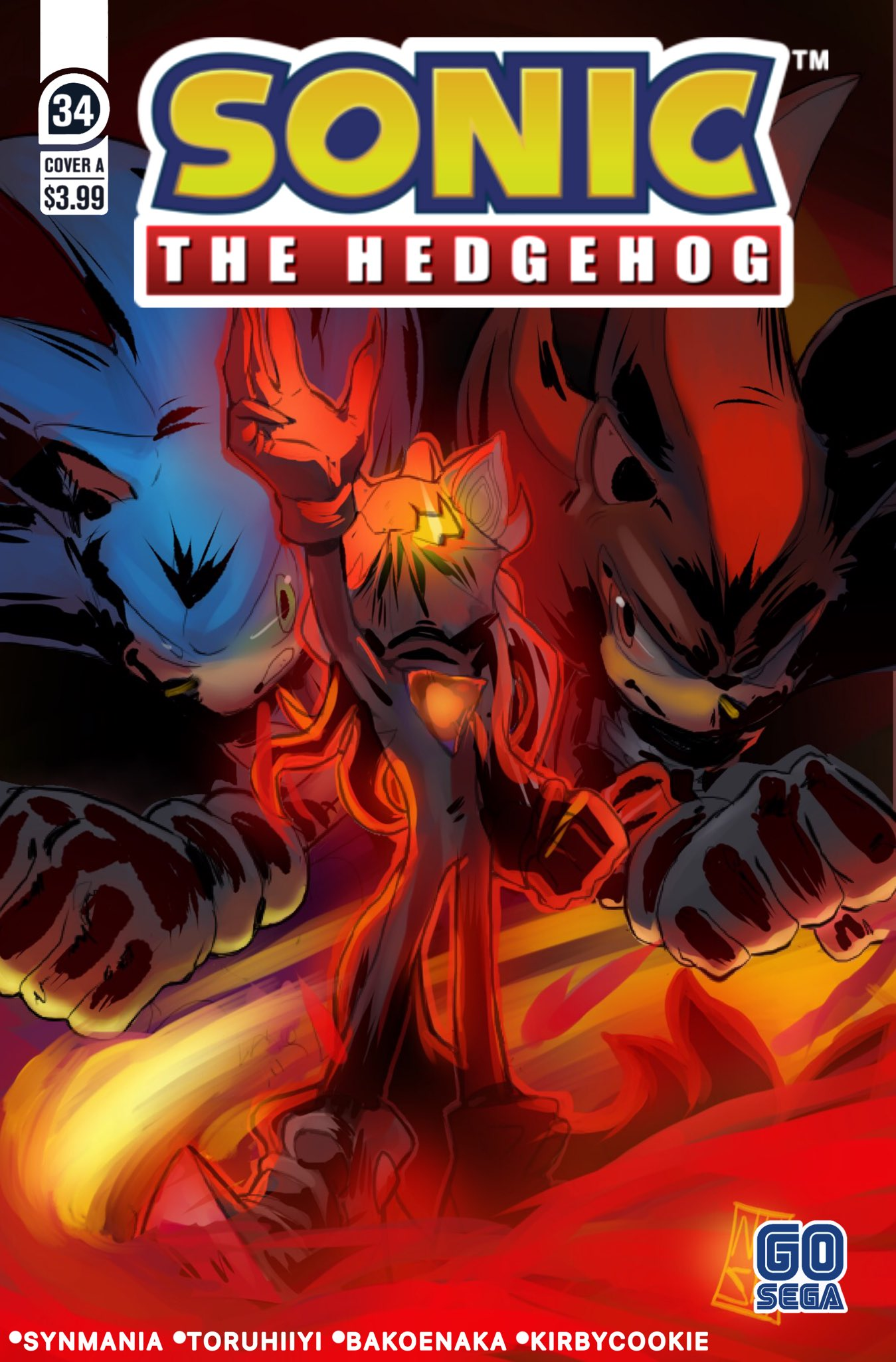 Idwsonicnews Idw Sonic Covers Previews On Twitter Sonic The Hedgehog 34 Cover A Done By Bakoenaka Sonic Sonicthehedgehog Idwsonic