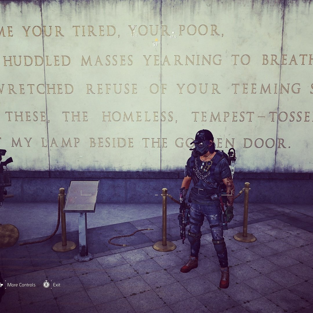 Give me liberty or give me death #Ubisoft #TomClancysTheDivision2 #mysteryplanetinc #ingamephotography pic.twitter.com/uMIz8r7ygm