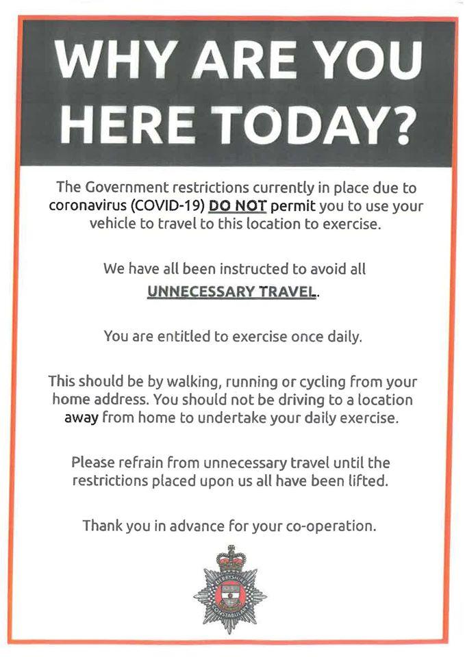Coronavirus: Police warn over 'unnecessary travel' https://bbc.in/2ykWlrjpic.twitter.com/3HjGeQ5ODe