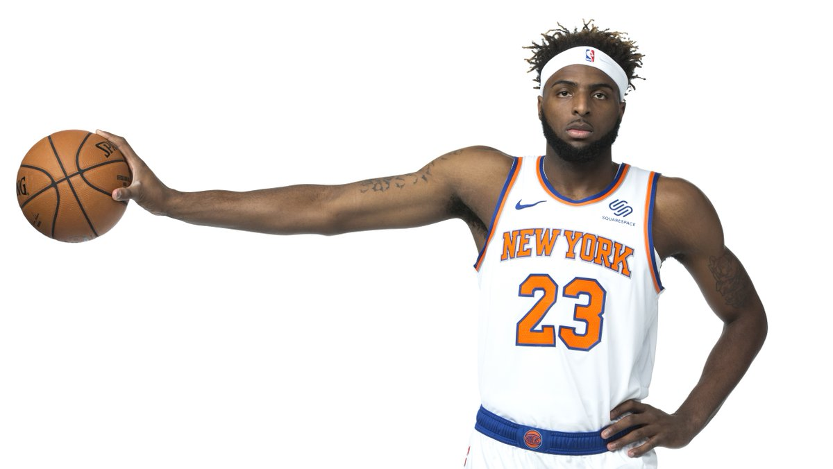 Join us in wishing @23savage____ of the @nyknicks a HAPPY 22nd BIRTHDAY! #NBABDAY #NewYorkForever