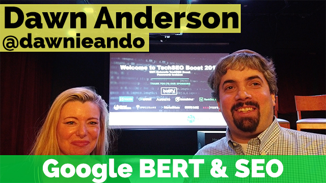 Vlog #59: Dawn Anderson On Google BERT & What It Really Means https://j.mp/3bIyFMa via @seroundtable #SEO #DigitalMarketing pic.twitter.com/BRZJJ8qBBe