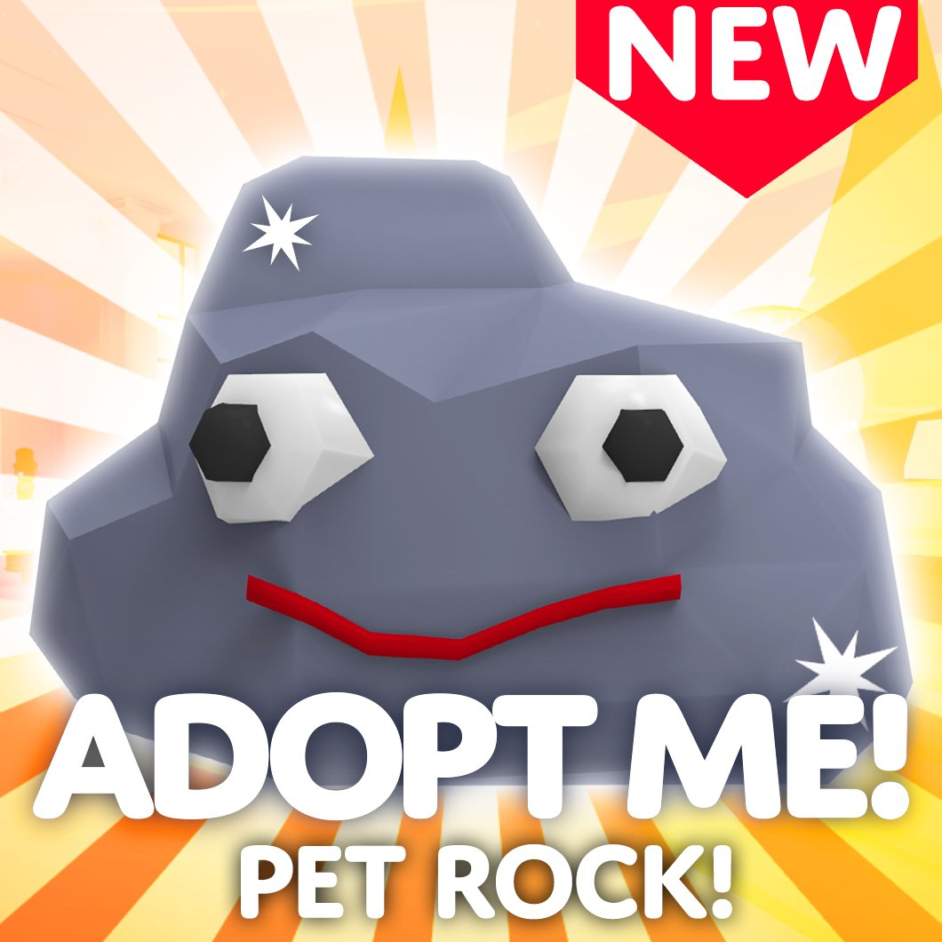 Adopt Me On Twitter Pet Rock April Fools Get Your Free Temporary Pet Rock From Burt Https T Co Uwwmltng8y