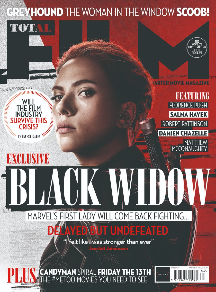 Coming to newsstands this Friday – our #BlackWidow issue, featuring our interview with Scarlett Johansson. Heres a snippet of our conversation with the actress: gamesradar.com/black-widow-sc…