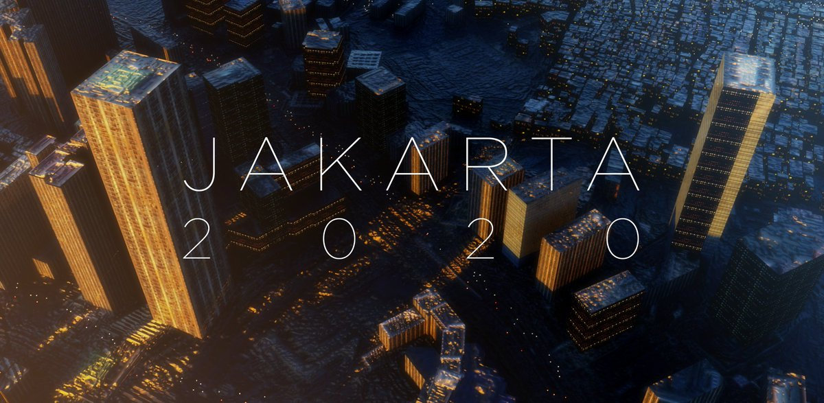 Jakarta  Made with Blender 2.83 and GIS add-on  #b3d #jakarta #citypic.twitter.com/UOW6dz9EdO
