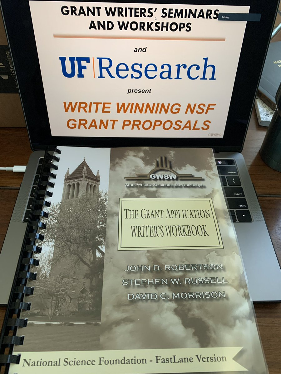 Thanks to @UFExplore for today's @NSF grant proposal session! @FloridaMuseum @UFatWork