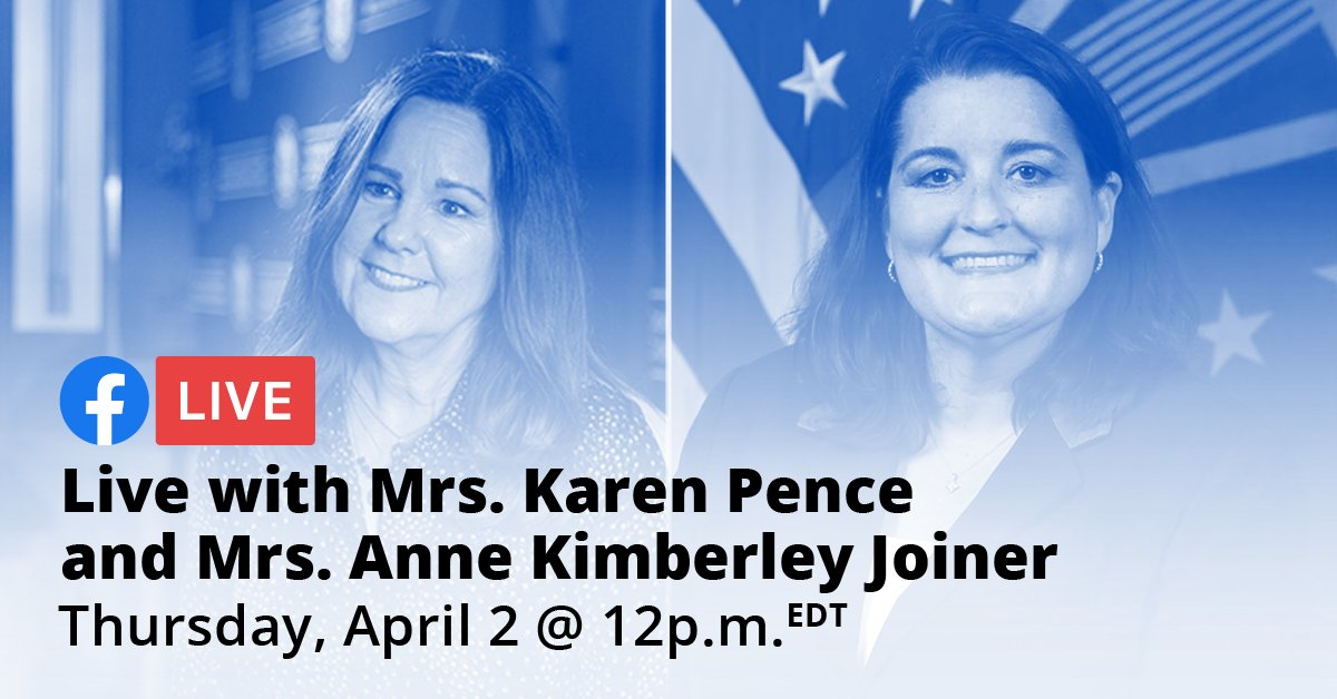 Join us April 2 for a special Purple Up Day conversation with @SecondLady  and Deputy Assistant Secretary of Defense for Military Community and Family Policy Mrs. Anne Kimberley Joiner. What questions do your MilKids have? We want to answer them live!  https://www.facebook.com/events/215455373102709/  ….