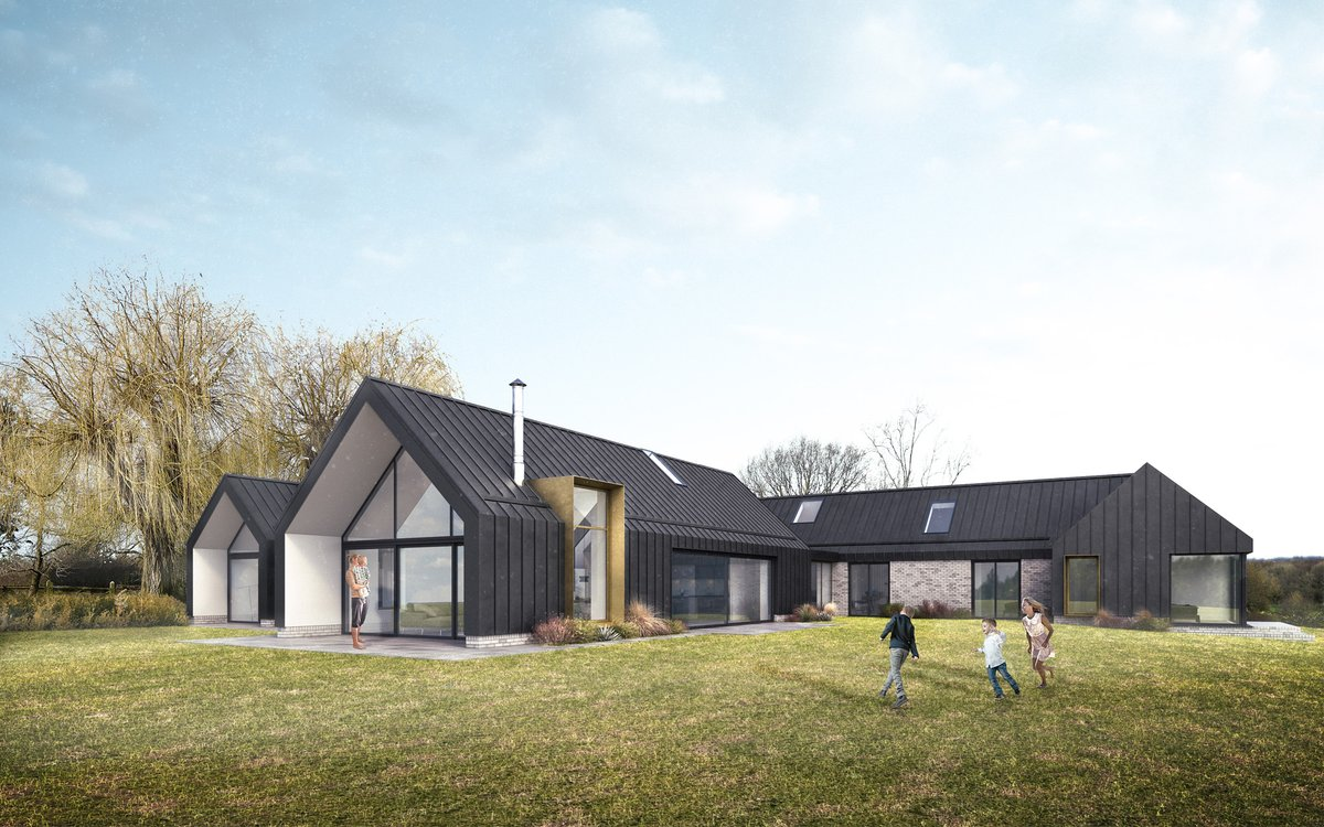 We have submitted a planning application for this replacement house in the Kent countryside. Watch this space #replacementhouse #newbuild #greenbelt #architecture #design #kentpic.twitter.com/aVsH9nm6TX