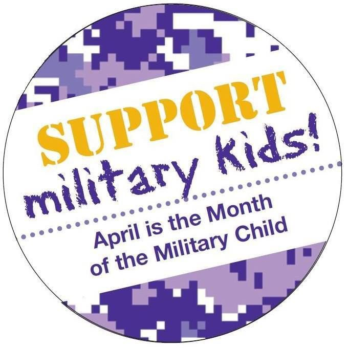 April is designated as the Month of the Military Child! A time to honor the sacrifices made by military children worldwide! Help us celebrate @LuxfordES https://t.co/4bLRdI0w3Z