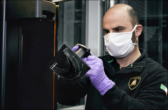 Automobili Lamborghini Starts Production of Surgical Masks and Medical Shields for Use in Coronavirus Pandemic    #instafollow #webstagram #auto #lamborghini #production #surgical #mask #medical #coronavirus #pandemic #use #worldprnetwork