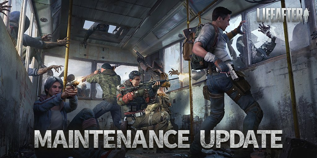 Lifeafter On Twitter Dear Survivors Since The Maintenance Is Over Please Feel Free To Leave Your Feedback About This Update In The Comments For Lifeafter Developers To Bring You A Better Gaming