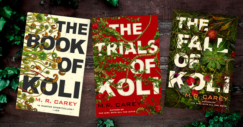 """Orbit Books on Twitter: """"Enter for a chance to win the complete Rampart  Trilogy by @michaelcarey191! The winner will receive each book as it gets  published—three new books sent to you throughout"""