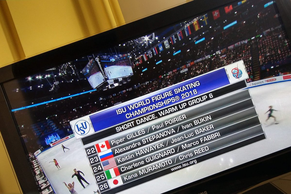 Are you around? #WorldFigure #2018Worlds <br>http://pic.twitter.com/3rLUMeJd0G