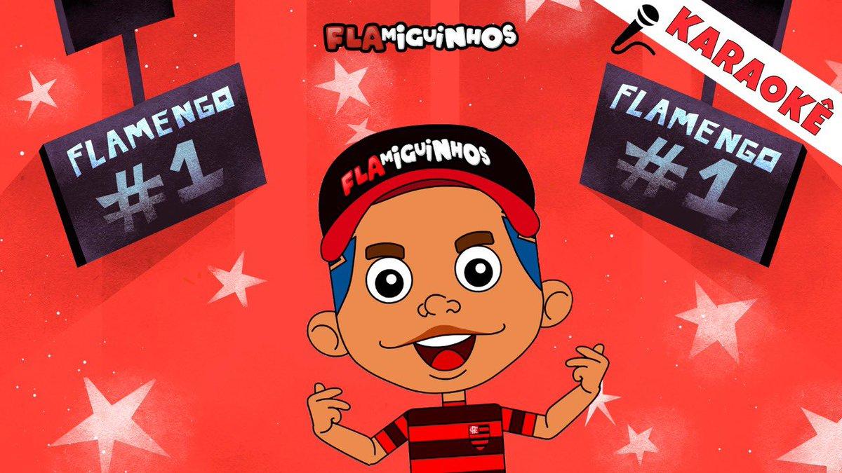 Tem NOVIDADE pra todo mundo 🥰  @flamiguinhos agora em versão KARAOKÊ... Pra você soltar a voz e brincar com a gente! 🎙🎤🥳  Se inscreva no canal... Vem cantar e se divertir! 🔴⚫️🎼  #KaraokeFlamiguinhos  https://www.youtube.com/playlist?list=PLHb0TP-mkc2CApvOMJnxEEB-5Q5f8UzlU…