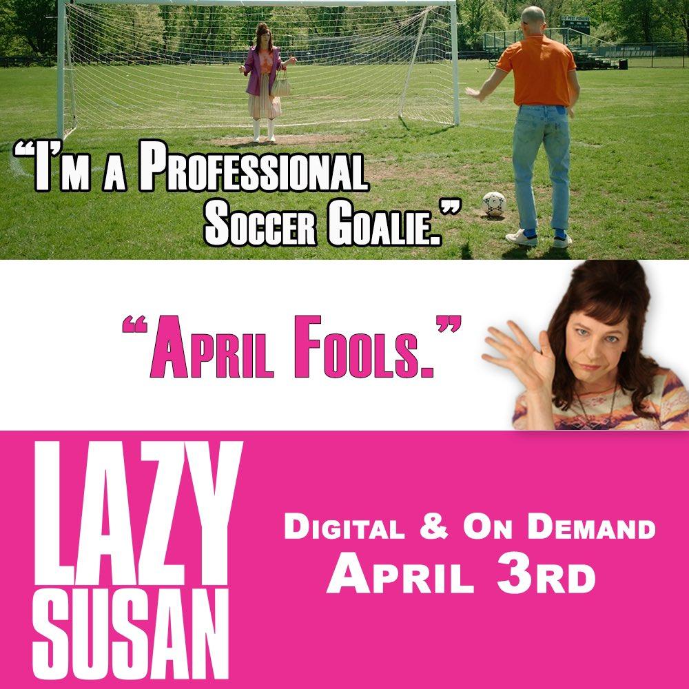 In 2 days. #LazySusanFilm