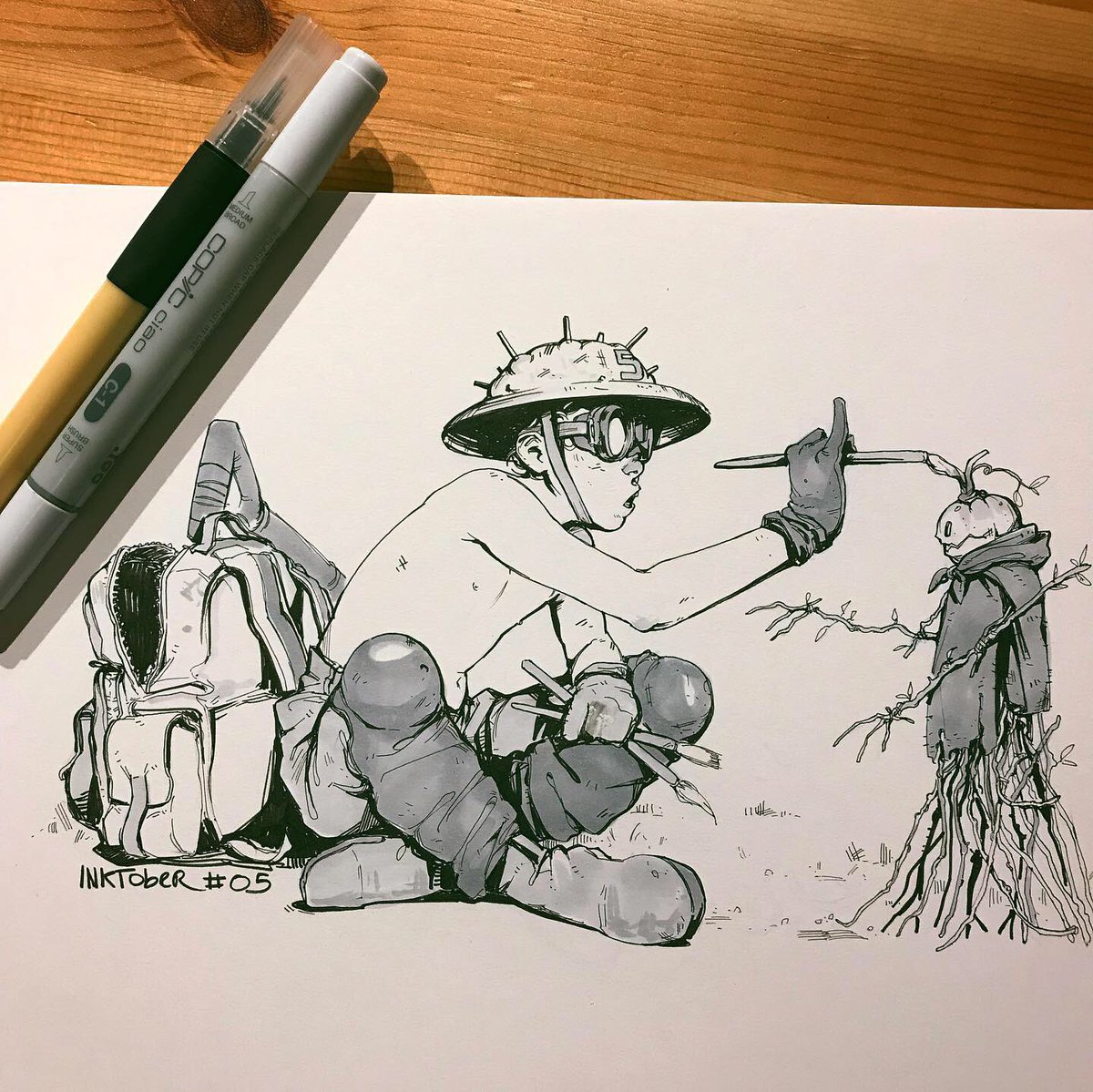 Bunch of drawings that I did a while ago!  #Inktober #art #artwork #sketchbook #sketchpic.twitter.com/lLIeIWOU4u