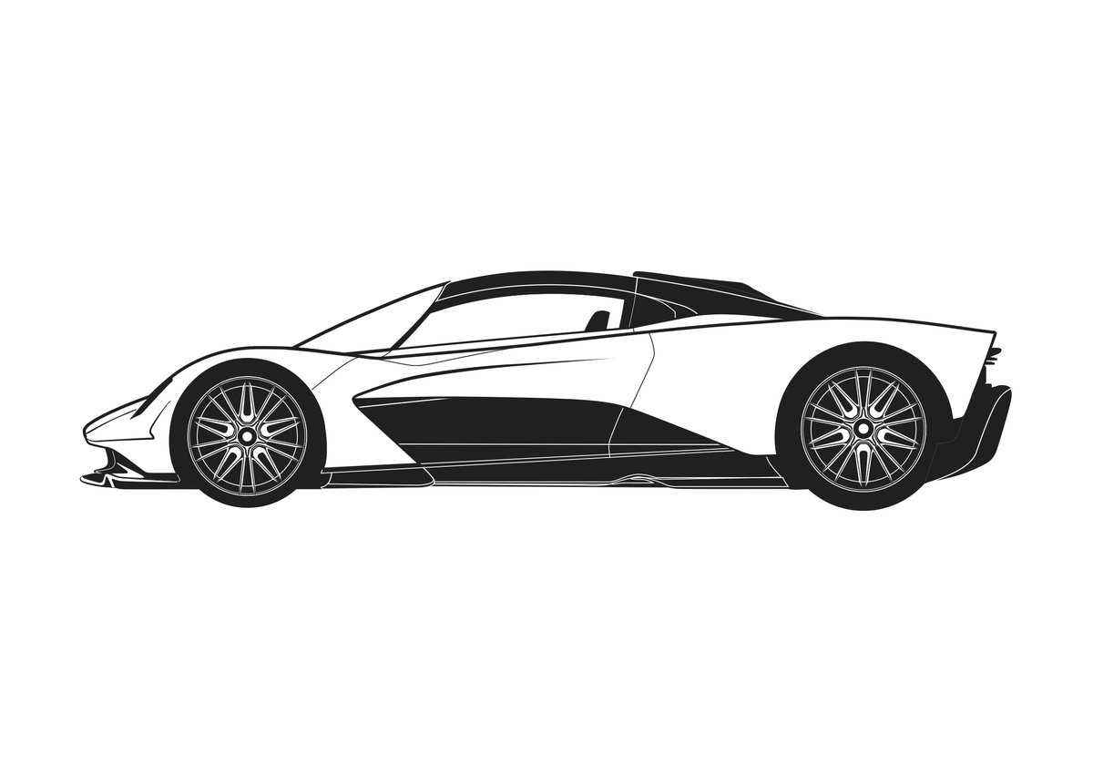 Aston Martin On Twitter Stay In Colour In This Week S Aston Martin Stencil Edition Is The Third Car In Our Hypercar Range Valhalla Show Us Your Designs Below We Love To