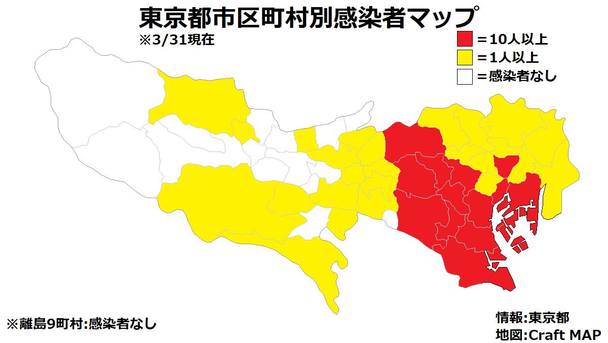 市 区 別 都 町村 コロナ 東京 くらしと統計2020 区市町村統計表